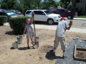 Young archaeologists at the River Street Archaeology Project