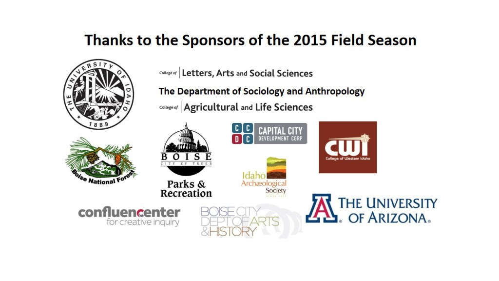 River Street Archaeology Project Sponsors